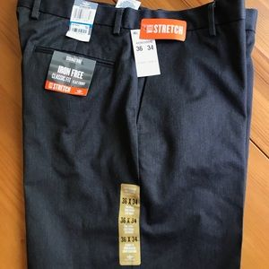 Other - Dockers 36x34 dark gray stretch